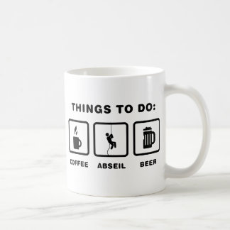 Abseiling Coffee Mug