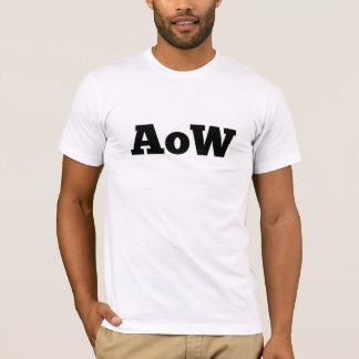 "Absence of Wax / ""AoW"" logo t-shirt"