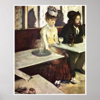 Absinthe, 1876 - Edgar Degas Print