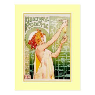 Absinthe Advert Postcard