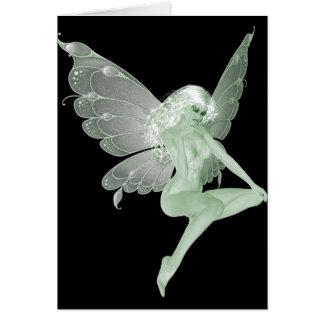 Absinthe Art Signature Green Fairy 1A Card