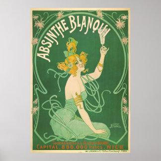 Absinthe Blanqui Poster