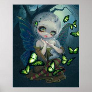 Absinthe Butterflies ART PRINT absinthe fairy art