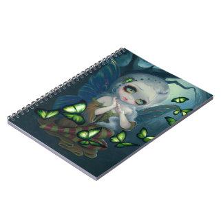 """""""Absinthe Butterflies"""" Notebook"""