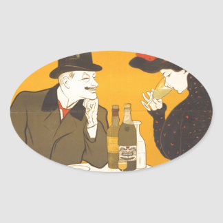 Absinthe Extra-Supérieure Oval Sticker
