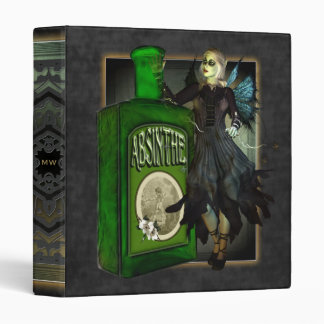 Absinthe Faerie 3 Ring Binder