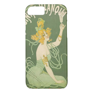 Absinthe Green Fairy Art Nouveau Vintage iPhone 7 Case