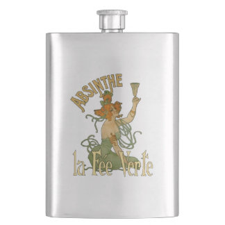 Absinthe Green Fairy La Fee Verte,Poster Steampunk Flask