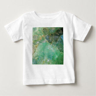 Absinthe Green Quartz Crystal Baby T-Shirt