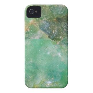 Absinthe Green Quartz Crystal iPhone 4 Case