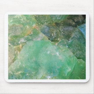 Absinthe Green Quartz Crystal Mouse Pad