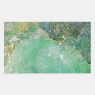 Absinthe Green Quartz Crystal Sticker