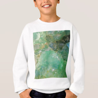 Absinthe Green Quartz Crystal Sweatshirt