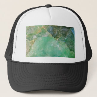 Absinthe Green Quartz Crystal Trucker Hat