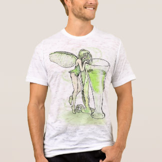 Absinthe La Fee Verte Fairy With Glass (no text) T-Shirt