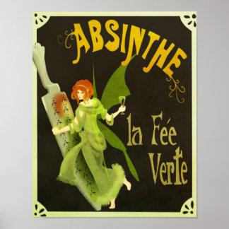 Absinthe la Fee Verte Poster