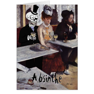 'Absinthe (Makes the Heart Grow Fonder)' Card
