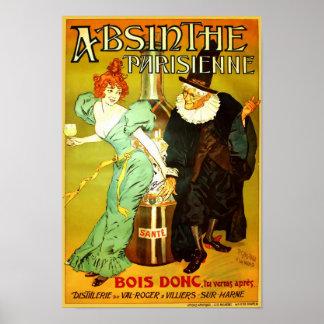 Absinthe Parisienne Vintage Poster