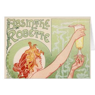 Absinthe Robette - Alcohol Vintage Poster Card