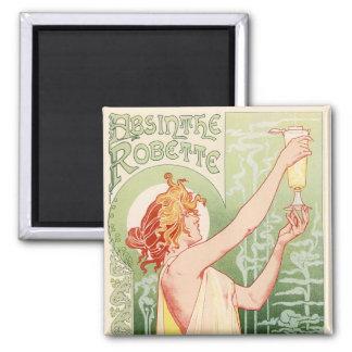Absinthe Robette - Alcohol Vintage Poster Magnet