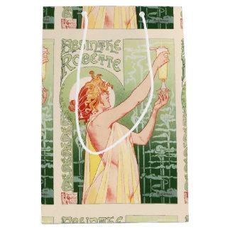 Absinthe Robette - Alcohol Vintage Poster Medium Gift Bag