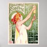Absinthe Robette (Cream) Poster
