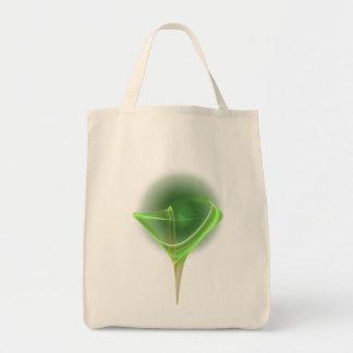 Absinthini Faery Martini Art Grocery Tote Bag