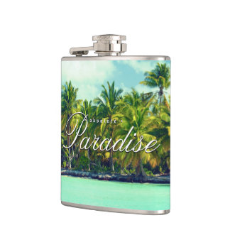 Absolute Paradise Hip Flask