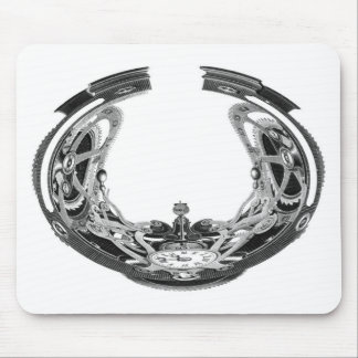 Absolute Time Mouse Pad
