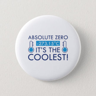 Absolute Zero 2 Inch Round Button