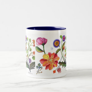 Absolutely Delicate Flower Mug
