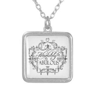 Absolutely Fabulous Silver Plated Necklace