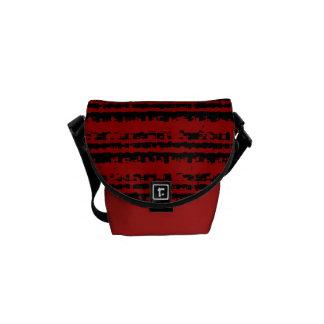 Absrtact Stripes Small Messanger Bag Messenger Bag
