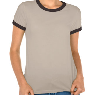 Abstact Red Eclipse - Melange Ringer Shirt
