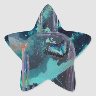 ABSTKINENCE AND CRAVING STAR STICKER