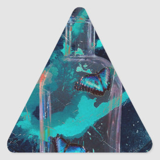 ABSTKINENCE AND CRAVING TRIANGLE STICKER