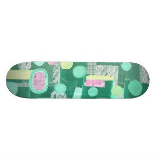 Abstract 050112b custom skate board