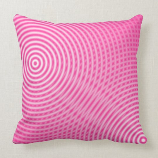 Abstract 090716(03) throw pillow
