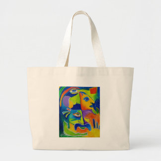 Abstract 10-18 jumbo tote bag