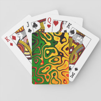 Abstract #11 Playing Cards