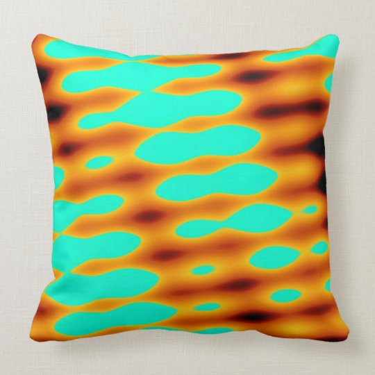 Abstract 140716(08) throw pillow