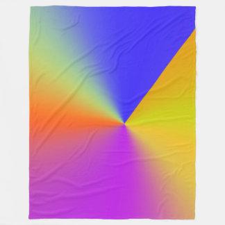 Abstract 161116(07) fleece blanket