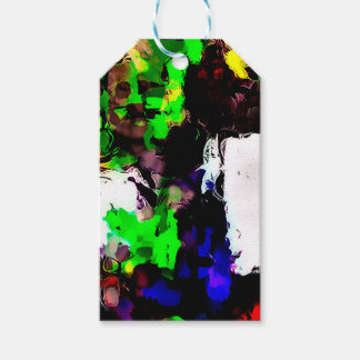 Abstract 1818 pack of gift tags