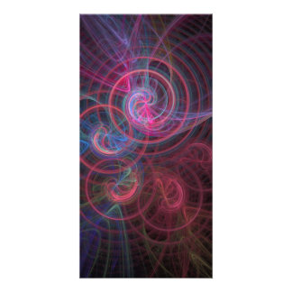 Abstract 19 picture card