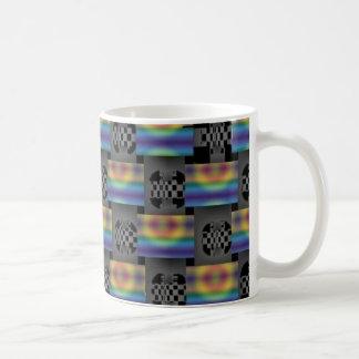 abstract 1 basic white mug