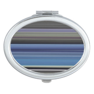 Abstract #1: Blue and grey Makeup Mirror
