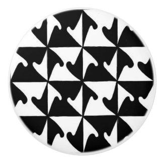 Abstract #1 Ceramic Knob