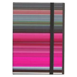 Abstract #1: Cerise and grey iPad Air Cover