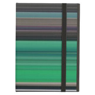 Abstract #1: Green and grey iPad Air Cover