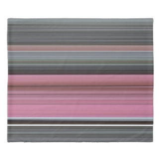 Abstract #1: Pink and grey Duvet Cover